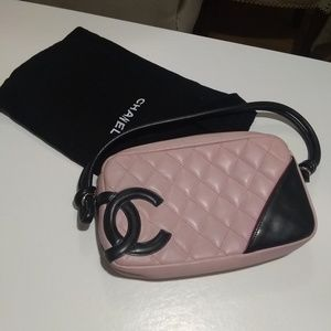 Authentic chanel small pink adorable bag